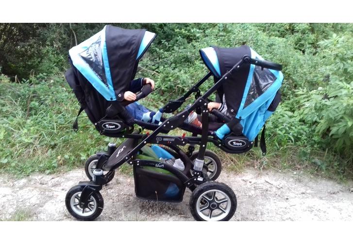 Vente Double stroller La Couronne France sur GoSlighter