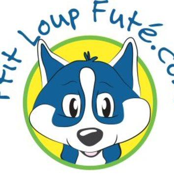 Large logo ptit loup fute rond detoure petit
